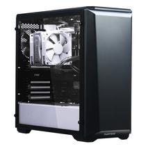 追风者 416PSTG 黑白色 中塔式机箱(ATX钢化玻璃静音版/RGB灯控/调速主动降噪/支持280水冷)产品图片主图