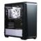 追风者 416PSTG 黑白色 中塔式机箱(ATX钢化玻璃静音版/RGB灯控/调速主动降噪/支持280水冷)产品图片1