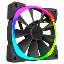 NZXT 恩杰  Aer RGB 120 RGB机箱风扇(RGB可编程可调色风扇/静音/大风量/耐用)产品图片主图
