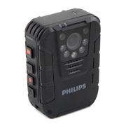 飞利浦 VTR8100 便携音视频记录仪1080P高清红外夜视摄像机执法仪录音笔拍照一体机 激光定位