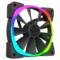 NZXT 恩杰  Aer RGB 140&Hue+套装(140mm RGB风扇两枚&Hue+灯光控制器一个/可变色可编程/大风量/静音)产品图片2