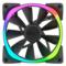 NZXT 恩杰  Aer RGB 140&Hue+套装(140mm RGB风扇两枚&Hue+灯光控制器一个/可变色可编程/大风量/静音)产品图片3
