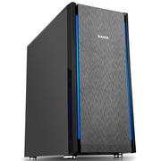先马 塞恩7(静音版) 中塔静音电脑机箱 (拉丝面板/独立电源仓/支持ATX主板、水冷、长显卡、背线)