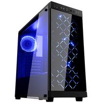先马 时光豪华版 分体式水冷机箱 (双面钢化玻璃/配3把蓝光风扇/支持ATX主板、长显卡、电源下置)产品图片主图