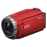 索尼 HDR-CX680 高清数码摄像机 5轴防抖 30倍光学变焦(红色)
