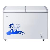海尔 BC/BD-273SEA 273升冷柜 蝶形门 侧掀门 单箱变温冰柜 家用商用二合一 卧式冰箱产品图片主图