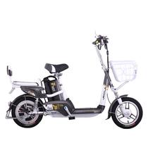 爱玛 电动自行车锂电系列 智跑-L TDT368Z 动力型 遥控报警 玻璃灰产品图片主图
