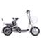 爱玛 电动自行车锂电系列 智跑-L TDT368Z 动力型 遥控报警 玻璃灰产品图片1
