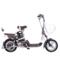 爱玛 电动自行车锂电系列 智跑-L TDT368Z 动力型 遥控报警 玻璃灰产品图片3