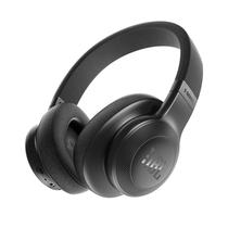 JBL E55BT 黑色 可折叠便携头戴式蓝牙耳机 无线立体声音乐耳机产品图片主图