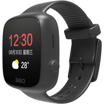 360 亲情手表 老人智能定位电话手表 语音播报 来电提醒  老人手表手机手环 红色黑色套装 礼品礼物产品图片主图
