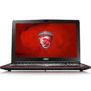 微星 GP62MVR 7RF-433CN 15.6英寸游戏笔记本电脑(i7 8G 1T+256GSSD GTX1060 WIN10 背光)黑