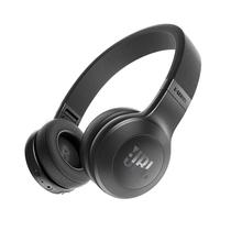 JBL E45BT 黑色 可折叠便携头戴式蓝牙耳机 无线立体声音乐耳机产品图片主图