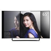 松下 TH-65DR800C 65英寸 4K曲面智能 网络电视(黑色)