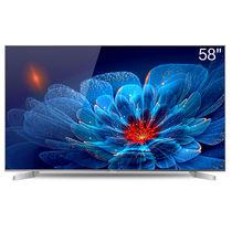 海信 LED58EC550UA 58英寸 4K 64位真14核HDR 8GB 金属智能电视(钛银)产品图片主图