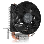 酷冷  T20 CPU 散热器(支持多平台/2热管/传Fin工艺/80mm低噪风扇/可拆装扣具/直触热管)