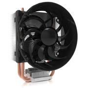酷冷  T200 CPU 散热器(支持多平台/2热管/PWM温控/90mm低噪风扇/背锁扣具/直触热管)