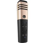 飞利浦 K38001手机麦克风唱吧全民k歌主播直播专用话筒 苹果安卓电容麦 电脑家庭K歌 香槟金