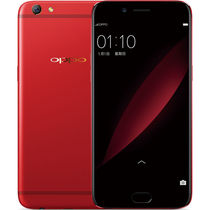 OPPO R9s 全网通4G手机 双卡双待 红色 新年特别版(4G RAM +64G ROM)标配产品图片主图