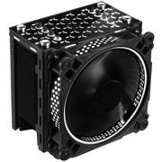 乔思伯 CR-201白色 CPU散热器 (多平台/4热管/智能温控/12CM风扇/发白光/附带硅脂)