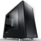 Thermaltake 启航者F1 黑色 Mini机箱(支持MATX主板/独立电源仓/支持背线/侧透/钢板0.6mm/U3)产品图片1