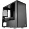 Thermaltake 启航者F1 黑色 Mini机箱(支持MATX主板/独立电源仓/支持背线/侧透/钢板0.6mm/U3)产品图片4