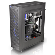 Thermaltake Core G3 黑色 薄型机箱(支持ATX主板/支持长显卡/垂直或平躺摆放/侧透/双U3)