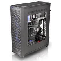 Thermaltake Core G3 黑色 薄型机箱(支持ATX主板/支持长显卡/垂直或平躺摆放/侧透/双U3)产品图片主图