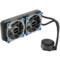 鑫谷 水凌霜240 一体式水冷CPU散热器(LED灯光/多平台通用/4针智能温控风扇/带硅脂/240冷排)产品图片2