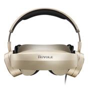 柔宇(ROYOLE) Moon 3D头戴影院 800寸弧形巨幕 2D/3D自由切换 双2K高清视觉 殿堂级耳机 屏幕大小可自由调节