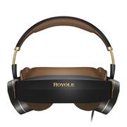 柔宇(ROYOLE) Moon 3D头戴影院 800寸弧形巨幕 逼真3D观影 双2K高清视觉 殿堂级耳机 屏幕大小可自由调节