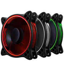 乔思伯 FR-331 12CM机箱风扇 RGB风扇 三风扇套装 (LED RGB 256色发光风扇/手动高速低速切换)产品图片主图