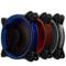 乔思伯 FR-331 12CM机箱风扇 RGB风扇 三风扇套装 (LED RGB 256色发光风扇/手动高速低速切换)产品图片4