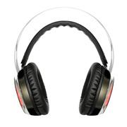 西伯利亚 X12 头戴式 电脑耳麦 发光 电竞游戏耳机 黑色