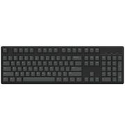 Ikbc c104 樱桃轴机械键盘 104键原厂Cherry轴 黑色 银轴