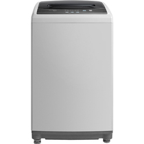 美的 MB55V30 5.5公斤全自动波轮洗衣机(灰色) 8段水位 桶自洁产品图片主图
