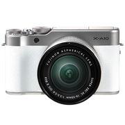 富士 X-A10 (XC 16-50II) 微单电套机 皓雪白 小巧轻便 微距拍摄 180度翻折屏