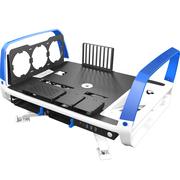 迎广 X-Frame 2.0蓝白 全塔机箱(支持EATX主板/30周年限量版/自带1065W白金全模透光电源)