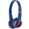 漫步者 漫威定制 W580BT 无线蓝牙4.0语音通话耳机 美国队长版产品图片1