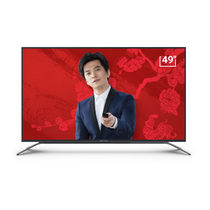 微鲸 W49F 49英寸李健纪念款 全高清智能网络平板电视机(灰色)产品图片主图