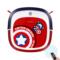 科沃斯 纤薄地宝Q版美国队长全自动App操控扫地机器人家用吸尘器智能拖地机产品图片3