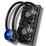 酷冷 MasterLiquid Pro 240(冰神Ⅱ)CPU水冷散熱器(多平台/双腔水泵/微水道铜底/低噪)