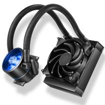 酷冷 MasterLiquid Pro 120(冰神Ⅱ)CPU水冷散熱器(多平台/双腔水泵/微水道铜底/低噪)产品图片主图