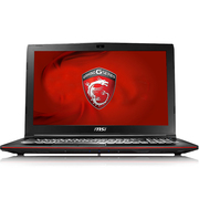 微星 GP62M 7RD-222CN 15.6英寸游戏笔记本电脑(i7-7700HQ 8G 1T+128GSSD GTX1050 WIN10)黑