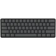 Ikbc poker2 Type-C 61键迷你机械键盘PBT键帽 原厂Cherry轴 黑色 茶轴