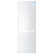 海尔 BCD-213WMPV 213升风冷无霜三门冰箱 DEO净味保鲜 中门-7度软冷冻白色水玉汐