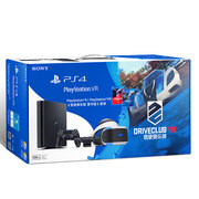索尼 PlayStation VR 主机套装(PS VR+PS4+摄像头+驾驶俱乐部 豪华版)