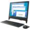 联想  AIO 310 19.5英寸一体机台式电脑( E2-9000 4G 500G 集显 无线网卡 蓝牙 Win10)黑色产品图片1