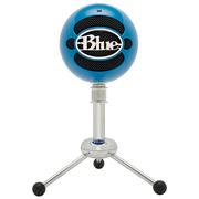BLUE Snowball 雪球USB电容麦克风 三种拾音模式 即插即用 电脑K歌YY游戏唱吧录音 荧光蓝