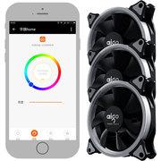 爱国者 月光宝盒A3 手机APP控制智能版 机箱风扇*3(远程电脑开关机/256色灯光模式/风扇调速)